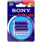 Батарейка SONY Stamina Plus LR03-6BL