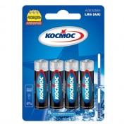 Батарейка КОСМОС LR6-4BL