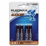 Батарейка SAMSUNG Pleomax LR03-4BL