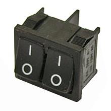 Выключатель клавишный MRS-2101(A) 250V 6A (4с)