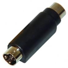 Переходник mini DIN 7 pin (шт.) — DIN 4 pin (гн.)