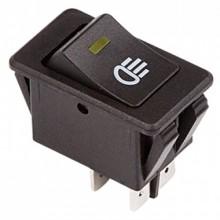 Выключатель клавишный ASW-17D 12V 35А (4с)