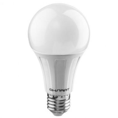 Лампа светодиодная ОНЛАЙТ ОLL-A60-10-230-2.7K-E27