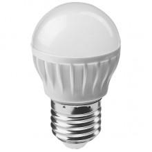 Лампа светодиодная ОНЛАЙТ ОLL-G45-6-230-4K-E27