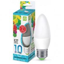 Лампа светодиодная ASD LED-СВЕЧА-standard 10Вт Е27 4000К