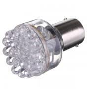 Автолампа светодиодная 1156 BA15S 24LEDS 12V одноконтактная
