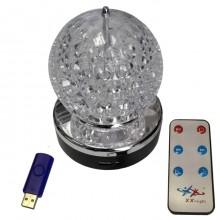 Вращающийся светильник XX-Light MP3 «LED LIGHT»
