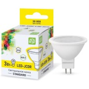 Лампа светодиодная ASD LED-JCDR-standard 3Вт GU5.3 3000К