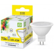 Лампа светодиодная ASD LED-JCDR-standard 7.5Вт GU5.3 3000К