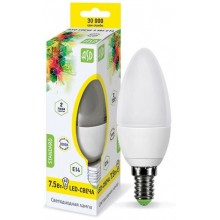 Лампа светодиодная ASD LED-СВЕЧА-standard 7.5Вт Е14 3000К