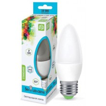 Лампа светодиодная ASD LED-СВЕЧА-standard 5Вт Е27 4000К