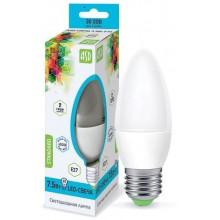 Лампа светодиодная ASD LED-СВЕЧА-standard 7.5Вт Е27 4000К