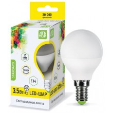 Лампа светодиодная ASD LED-ШАР-standard 3.5Вт Е14 3000К