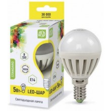 Лампа светодиодная ASD LED-ШАР-standard 5Вт Е14 3000К