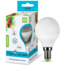 Лампа светодиодная ASD LED-ШАР-standard 7.5Вт Е14 4000К