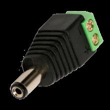 Разъём питания DC 5.5x2.1x14.0мм (шт.) на кабель с клеммой