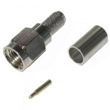 Разъем SMA (шт.) на кабель под пайку (обжим)