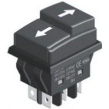 Выключатель клавишный JD03-C1 250V 14A (6с)