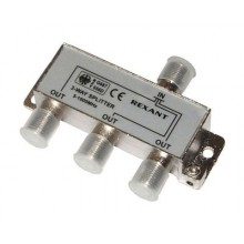 REXANT 3-way splitter 5-1000 МГц под f-разъём