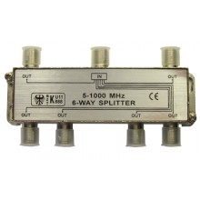 PROCONNECT 6-way splitter 5-1000 МГц под f-разъём