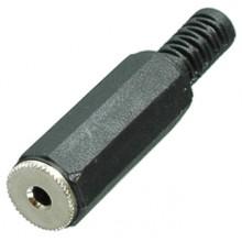 Разъём micro jack 2.5 мм (гн.) stereo на кабель