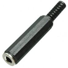 Разъём jack 6.35 мм (гн.) stereo на кабель