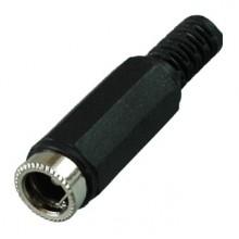 Разъём питания DC 5.5x2.5мм (гн.) на кабель