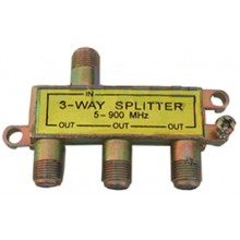 PROCONNECT 3-way splitter 5-900 МГц под f-разъём