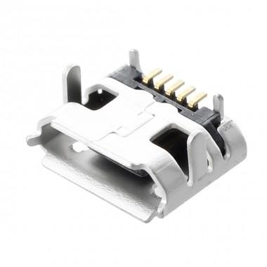 Разъём micro USB MCJ5219 (гн.), на плату