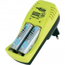 Зарядное устройство ANSMANN maxE POWER SET + 2MHAA