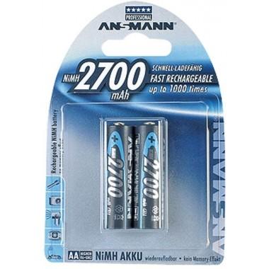 Аккумулятор ANSMANN Professional R6 (2700 mAh)