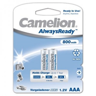 Аккумулятор CAMELION Always Ready R03 (800 mAh)