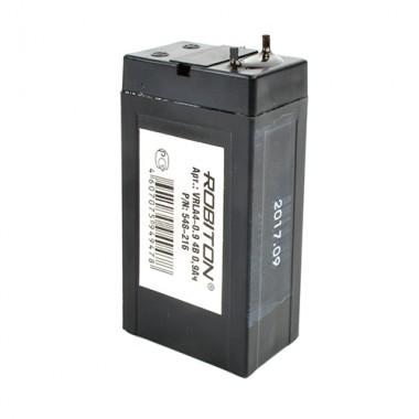 Аккумулятор ROBITON VRLA 4-0.9 (4V, 0.9Ah)
