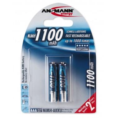 Аккумулятор ANSMANN Professional R03 (1100 mAh)