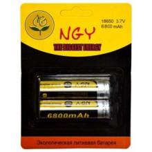 Аккумулятор NGY 18650 (6800 mAh)  без защиты