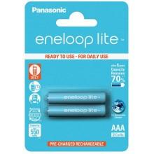 Аккумулятор PANASONIC Eneloop Lite BK-4LCCE/2BE (550 mAh)