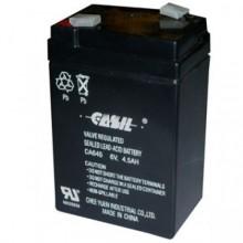 Аккумулятор CASIL CA645 (6V, 4.5Ah)