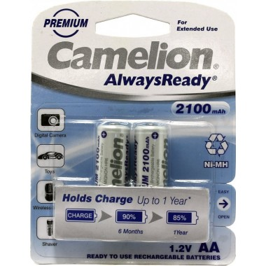 Аккумулятор CAMELION Always Ready R6 (2100 mAh)