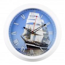 """Настенные часы 21 ВЕК 3024-60 """"Корабль"""""""