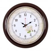 """Настенные часы РУБИН 3024-130 """"Розы с орнаментом"""""""