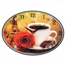 """Настенные часы 21 ВЕК 2434-154 """"Утро в Париже"""""""