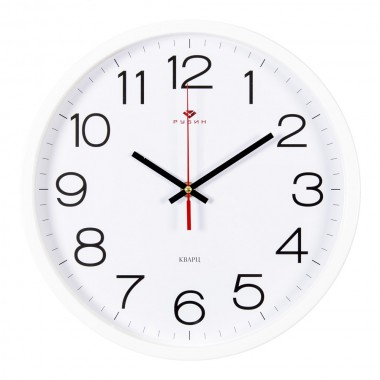 """Настенные часы РУБИН 3027-121W """"Классика"""""""