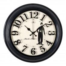 """Интерьерные часы 3527-144 """"Чарли Чаплин"""""""