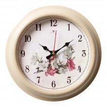 """Настенные часы РУБИН 2121-135 """"Цветение"""""""