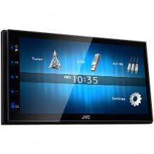 Ресивер JVC KW-M14: Большой экран в любой автомобиль