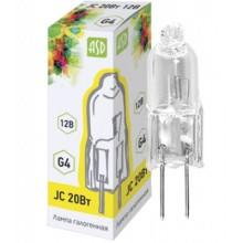 Галогенная лампа ASD JC 20Вт 12В G4