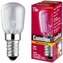 Лампа накаливания CAMELION 15 P CL E14