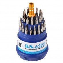Набор прецизионных отвёрток KAISI KS-6222 (30 в 1)