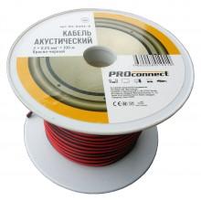 Кабель акустический PROCONNECT 2x0.25 мм²