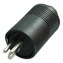 Разъём «точка-тире» (шт.) на кабель под пайку